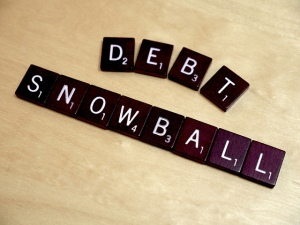 """Debt Snowball."" Photo credit: LendingMemo.com."