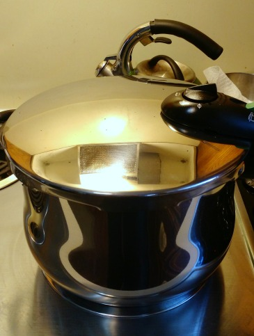 Pressure cooking for frugal dishes